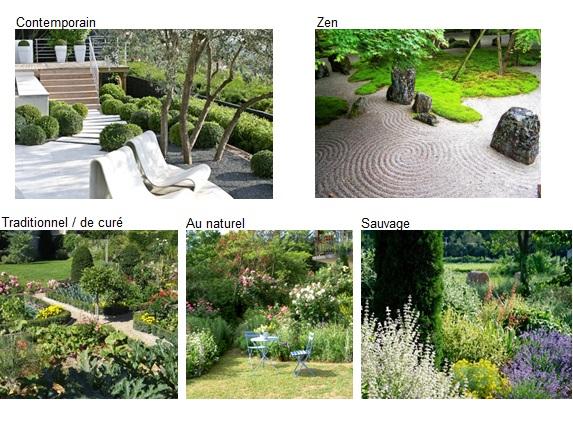 Am nagement ext rieur tape 2 choisir une ambiance monjardin Jardin design contemporain