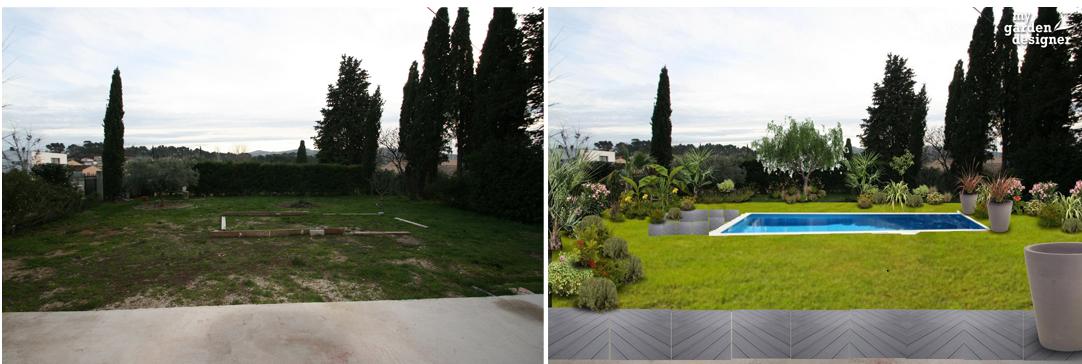 Am nager un jardin contemporain les r gles monjardin - Exemple d amenagement de jardin ...