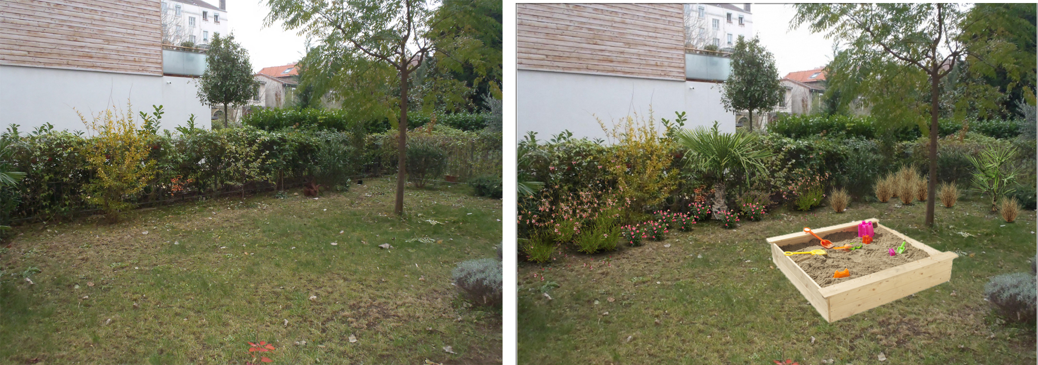 Idees jardins paysagers d coration de maison contemporaine for Idees jardins paysagers