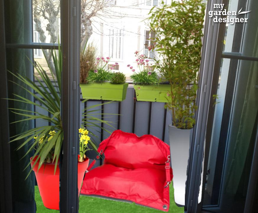 Am nager un balcon troit monjardin for Amenager un salon long et etroit