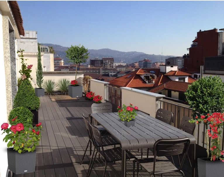 Comment amenager grande terrasse - Comment amenager une terrasse de charme ...