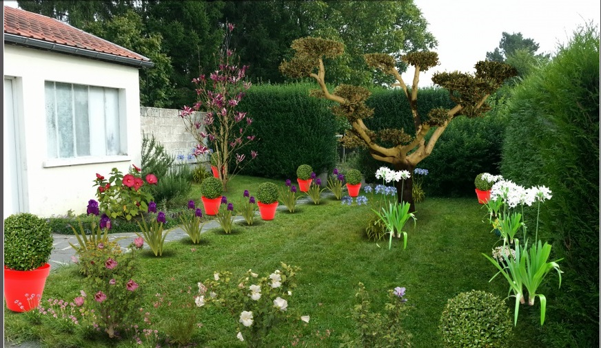Derni res cr ations monjardin for Amenager un jardin anglais