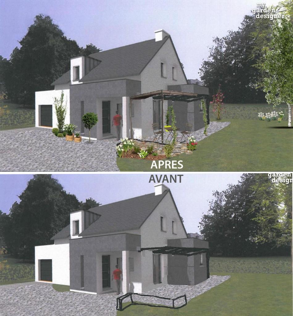 simulation amenagement maison photos de conception de. Black Bedroom Furniture Sets. Home Design Ideas