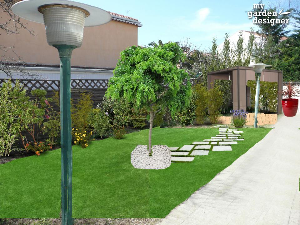 D co creer un jardin mediterraneen argenteuil 23 creer argenteuil - Petit jardin contemporain argenteuil ...