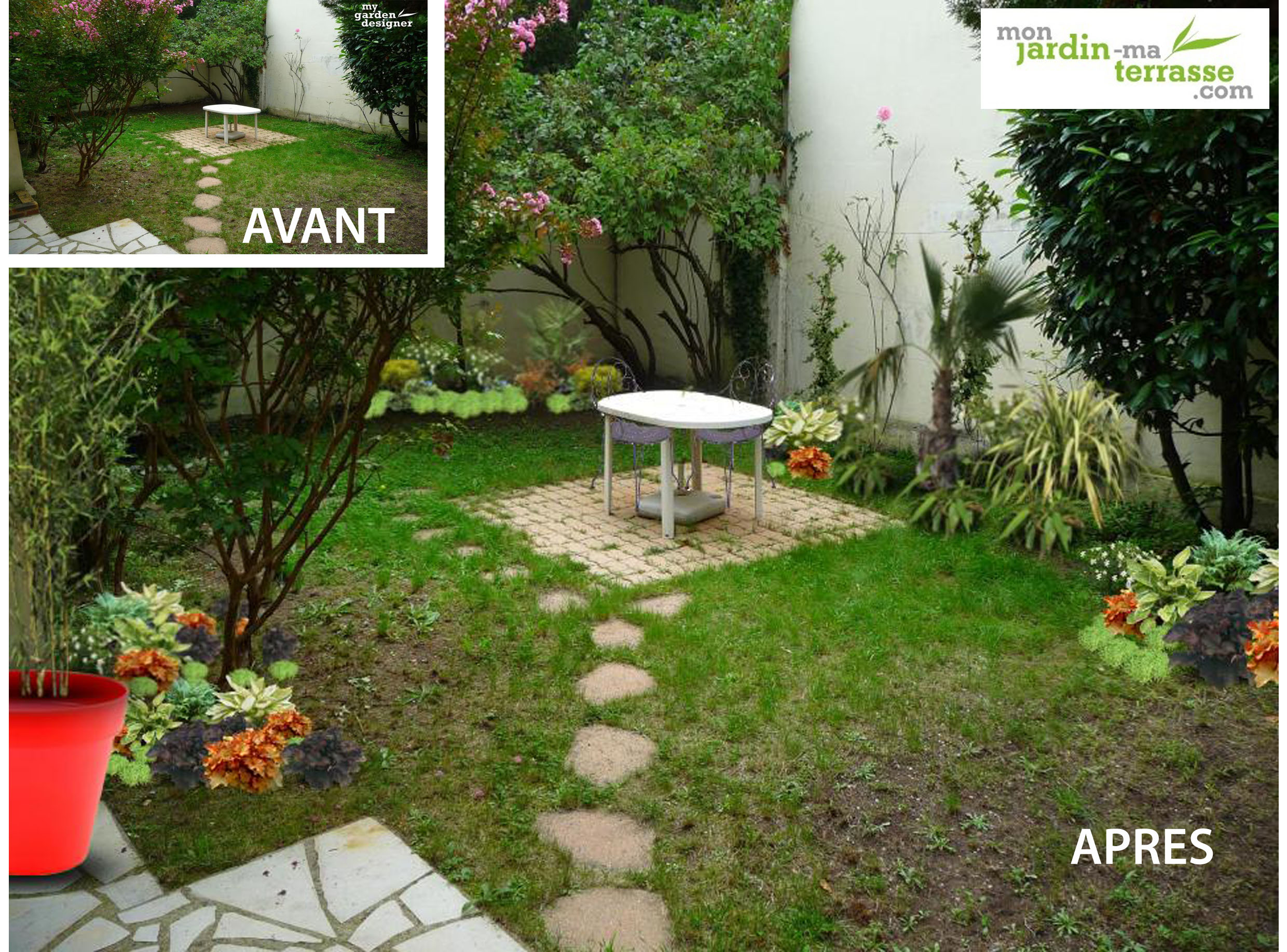 Am nager un jardin l ombre d immeubles monjardin for Amenager son jardin exterieur