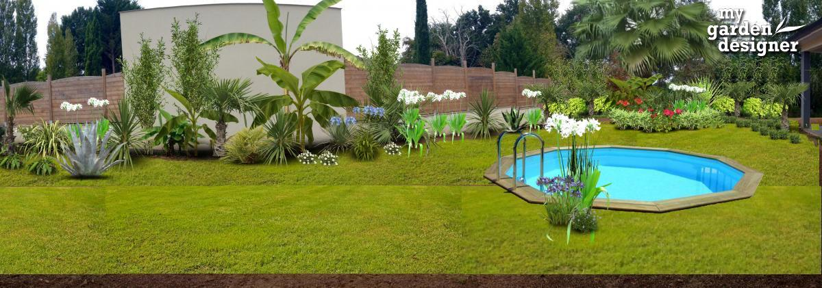 Amenager un jardin exotique monjardin for Amenager une terrasse jardin