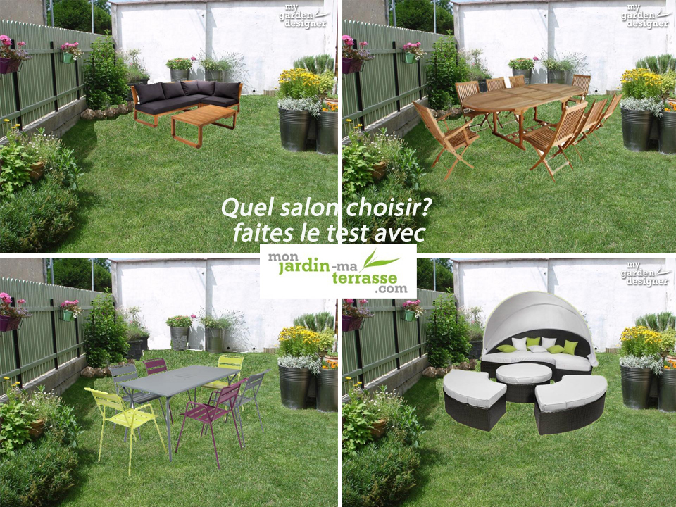 D coration de jardin et salon ext rieur monjardin for Idee deco salon de jardin