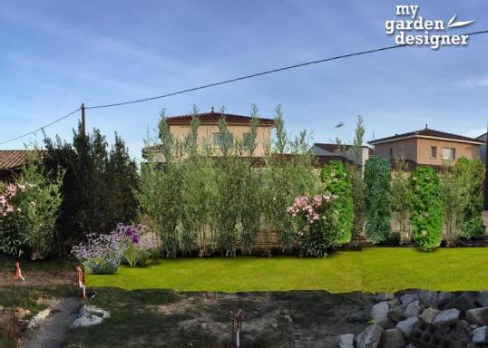 Plan am nagement paysager monjardin - Cacher vis a vis jardin ...