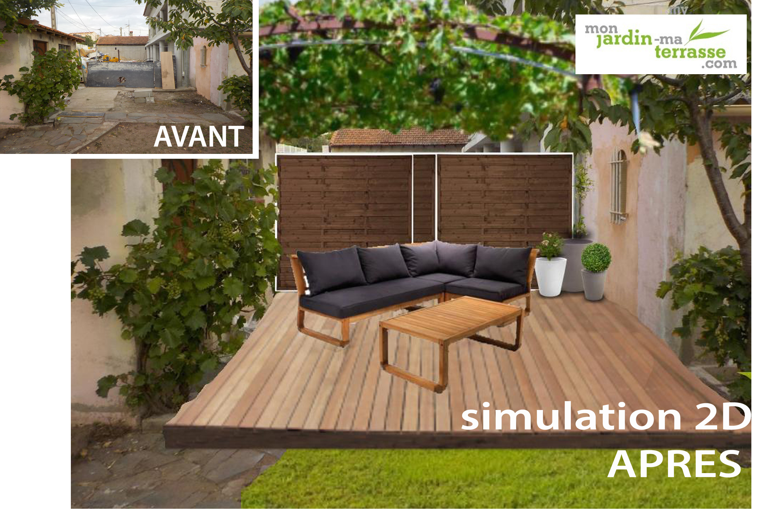 Am nager un coin repos dans son jardin monjardin for Amenagement petit coin jardin