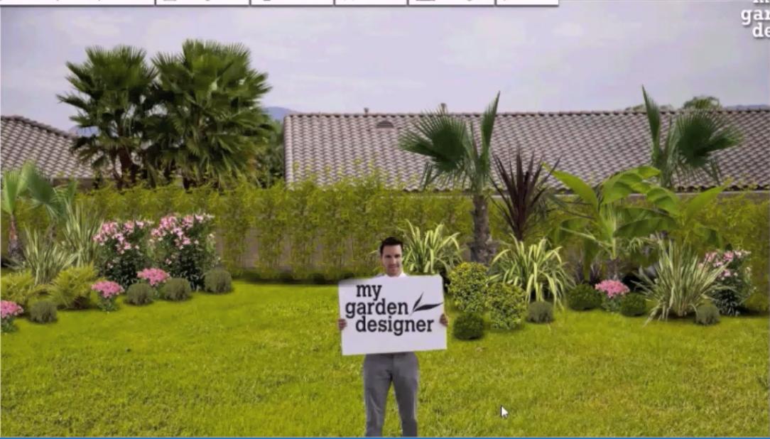 Avant apr s avec le logiciel jardin my garden designer for My garden designer