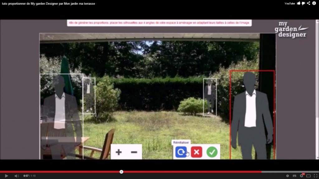 Tutoriel monjardin for Logiciel simulation amenagement jardin