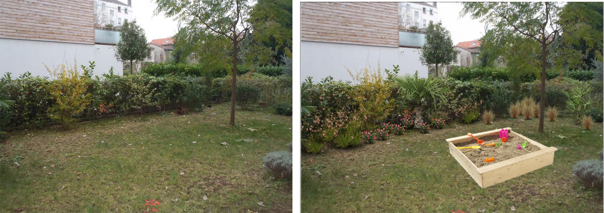 Am nagement paysager du jour un rez de jardin lyonnais for Blog amenagement jardin