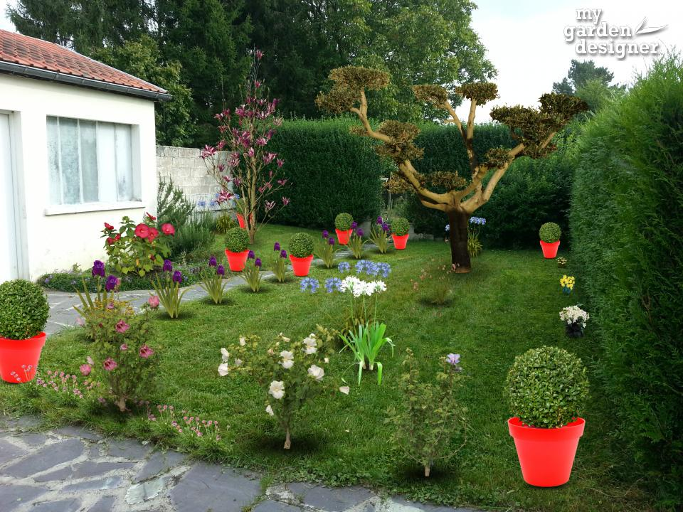 Am nager un jardin traditionnel monjardin for Amenager mon jardin