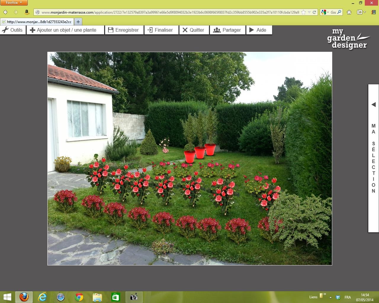 My garden designer un jeu d enfants monjardin for Monjardin materrasse