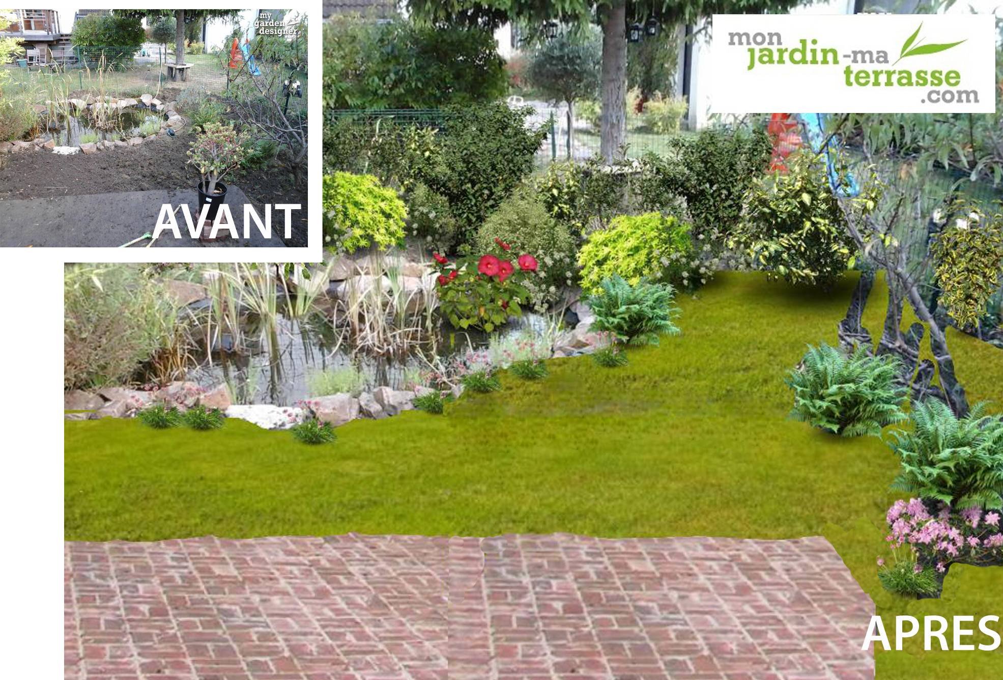 Am nager son bassin de jardin monjardin for Amenagement jardin agrement