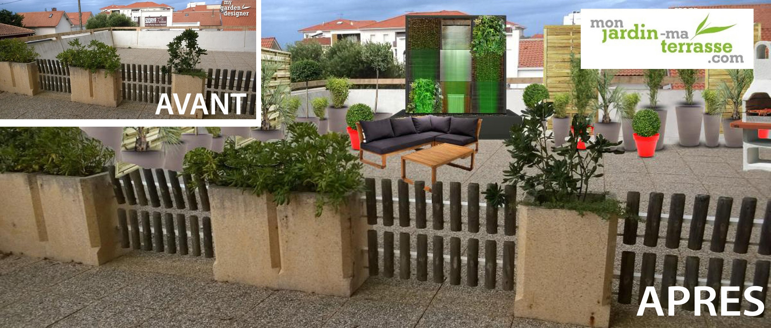 am nager son toit terrasse monjardin. Black Bedroom Furniture Sets. Home Design Ideas