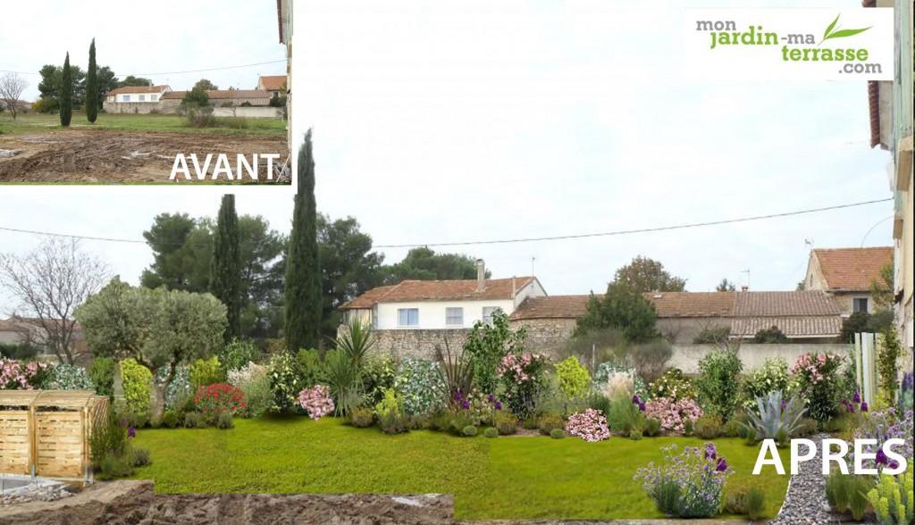 Emejing massif dans mon jardin images design trends 2017 for Monjardin materrasse