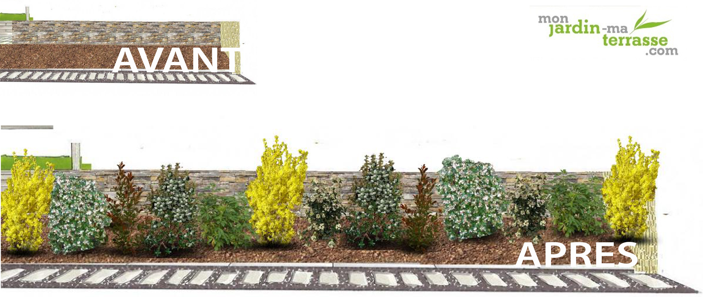 Emejing haie de jardin fleurie photos design trends 2017 for Monjardin materrasse
