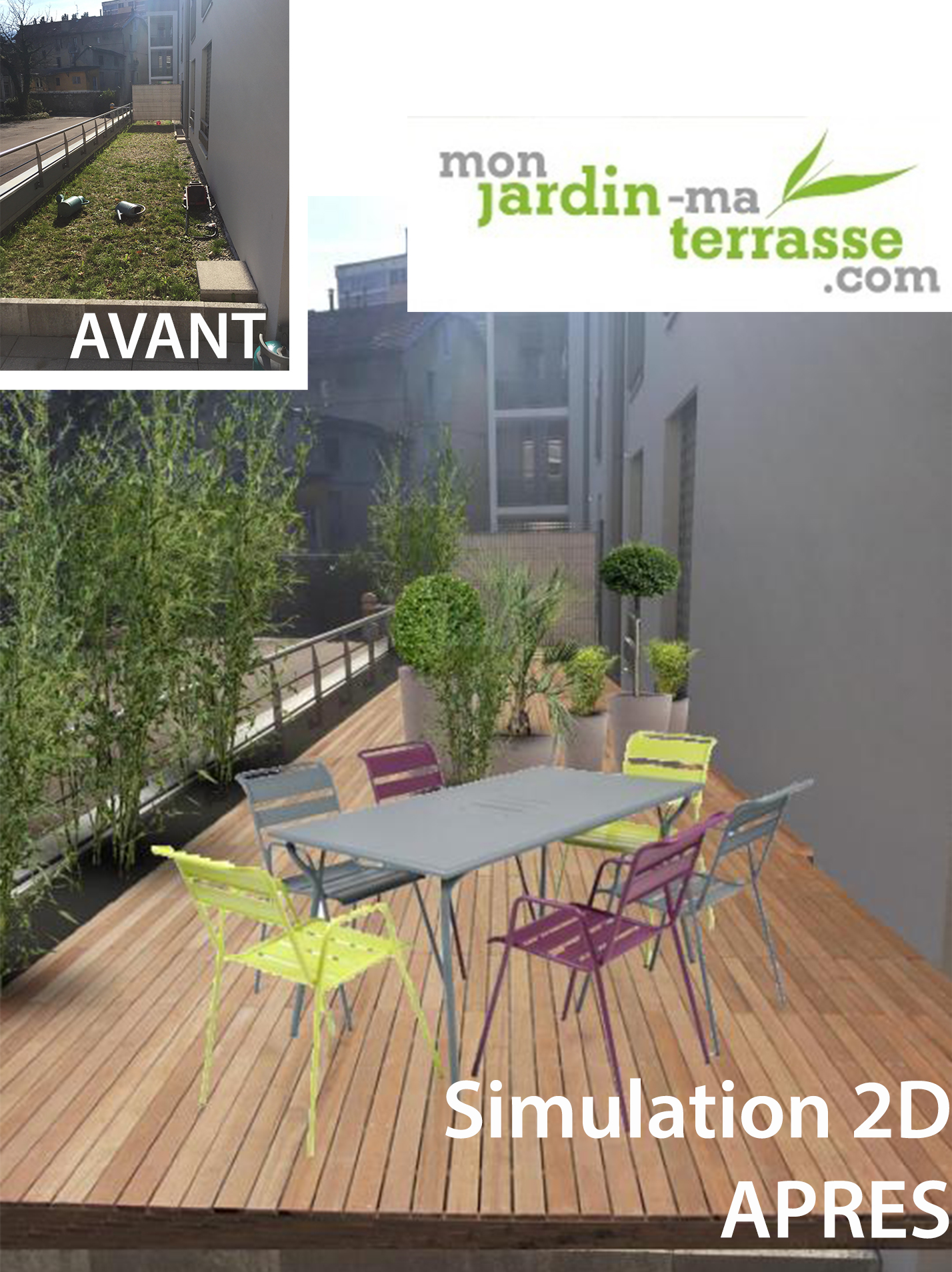 Am nagement du toit terrasse d un appartement monjardin for Terrasse appartement amenagement