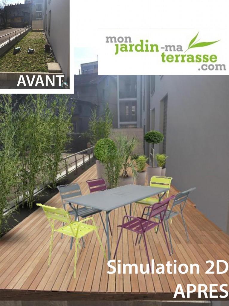 Monjardin mon jardin ma terrasse page 2 for Jardin terrasse appartement
