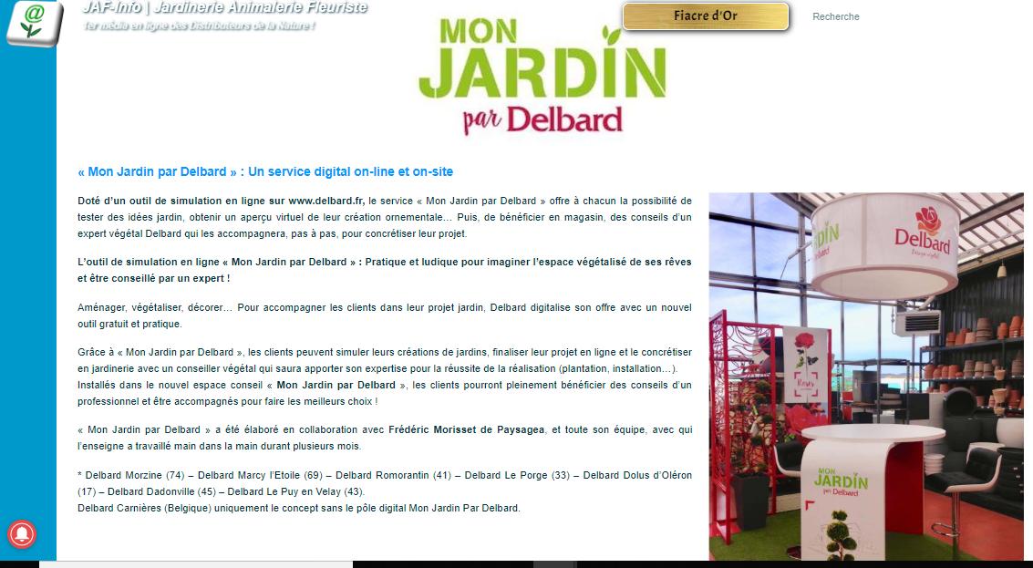 Article Presse Jardin